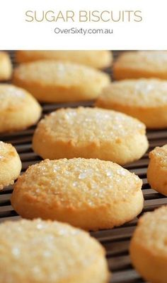 Sugar Biscuits - f you're craving something sweet, this simple sugar cookie recipe is almost too easy to make!