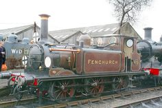 Fenchurch- Terrier locomotive at the Bluebell Railway