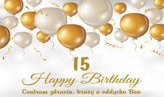 Oslavujeme 15.narodeniny
