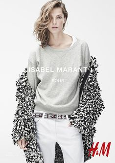 Isabel Marant for H&M Campaign with Daria Werbowy, Milla Jovovich.