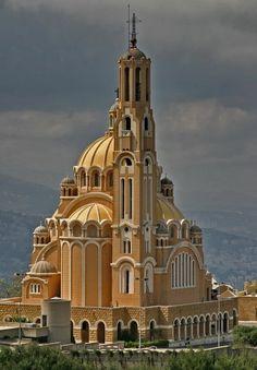 Catholic Monastery in Harissa