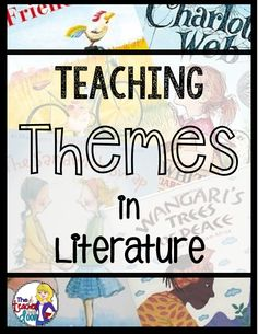 Erin: I love this teacher's ideas of teaching themes in her classroom. She uses mentor texts, making posters, and other creative activities! Reading Themes, Reading Activities, Teaching Reading, Creative Activities, Creative Ideas, Learning, Reading Strategies, Reading Skills, Reading Comprehension