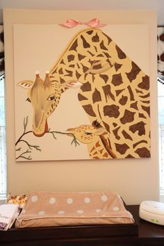 love this painting for a little girl's room!