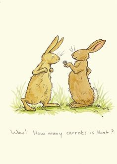 Two Bad Mice - How many carrots Anita Jeram Art And Illustration, Bunny Art, Cute Bunny, Easter Bunny Pictures, Anita Jeram, Arte Sketchbook, Rabbit Art, Cute Drawings, Cute Art