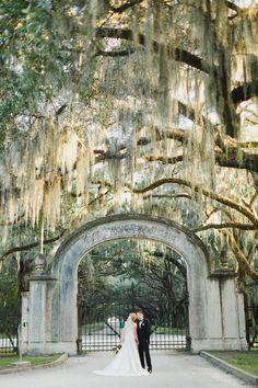Leanza   Remi \ Savannah, GA Wedding Photographer Wormsloe Plantation \ Whitefield Chapel   GA State Railroad Museum