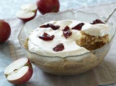 Få opskriften på gammeldags æblekage med Familie Journal