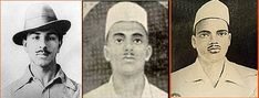 Tributes to Brave-heart Legends Bhagat Singh, Sukhdev and Rajguru on  from Team 