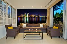 San Diego Skyline at Night Repositionable Wall Mural by FotoWallsUSA. Removable Wall Paper. Find it on Etsy. https://www.etsy.com/listing/204779014/san-diego-skyline-at-night?ref=pr_shop
