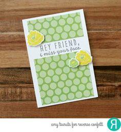 Hey Friend by Amy Tsuruta for Reverse Confetti | by Tsuruta Designs