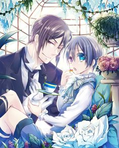 Black Butler ~~ Goodies in the Greenhouse :: Sebastian and Ciel