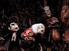 """Rankin Bass' """"Mad Monster Party"""" Although not Halloween oriented, still full of Halloween characters"""