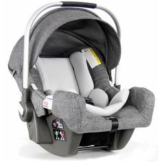 Stokke Pipa Infant Car Seat by Nuna Black Melange ❤ liked on Polyvore featuring baby