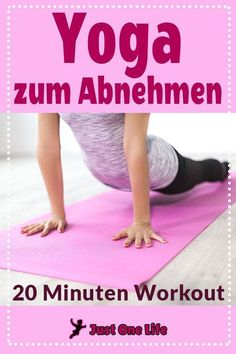Yoga for losing weight - 20 minutes workout- Yoga zum Abnehmen – 20 Minuten Workout Yoga for weight loss is suitable for yoga beginners and for experienced yogis to stimulate their metabolism and to tone up the figure. Yoga Beginners, Beginner Yoga, Advanced Yoga, Fitness Workouts, Fitness Del Yoga, Physical Fitness, Easy Fitness, Sport Fitness, Fitness Tracker