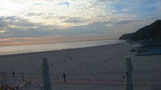 Gdynia, 08:04 http://xc.pl/gdynialive - kamera na żywo z gdyńskiej plaży