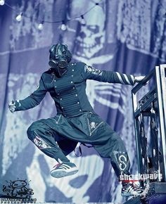 #0, Sid Wilson of Slipknot. He really puts on a good show!