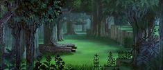 Eyvind Earle my favorite Disney Environment Artist