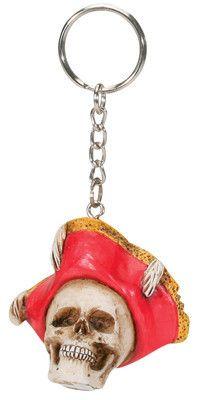 Pirate Hat Key Chain