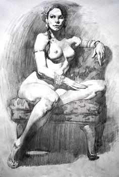 Figure Drawing, by Watts Atelier founder Jeffrey Watts http://wattsatelier.tumblr.com/