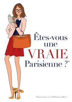 Vraie parisienne #quotes, #citations, #pixword