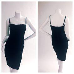 The perfect LBD has arrived. Brand new Just Cavalli dress, size 42, adjustable straps. Glamdrobe's price: $195. #instaglam #justcavalli #blackdress #dressy #classy #lbd #valentinesday #littleblackdress #glamdrobe
