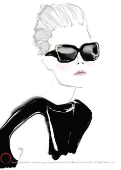 Have your own style and fun!  by Fanco Chen at OOPS fashion illustration studio