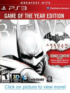 Batman: Arkham City (Game of the Year Edition) - PS3 #Batman: #Arkham #City #Game #Year #Edition #PS3