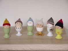 TUTORIAL- Jak zrobić na drutach czapeczki dla jajek?