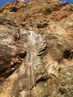 Escalade gorges du Blavet