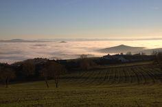 #brouillard #nuage #cloud #paysage #landscape #puydedome #sallèdes #auvergne #photographie #photography #canon