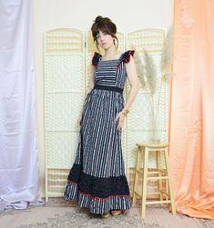 BohoKimono - Sustainable Clothing, Boho Clothing | BohoKimono Fringe Kimono, Boho Kimono, Kimono Fashion, Long A Line Skirt, A Line Skirts, Maxi Dresses Uk, Summer Dresses, Vintage Hippie, Sustainable Clothing