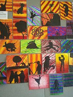 Silhouetteshttp://pinterest.com/JettaQueen78/teachin-art/#