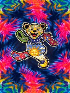 Bear Dead Grateful Mushroom Tattoo | dead bears on Tumblr