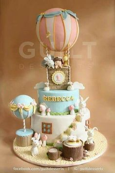 Heavenly Hot Air Ballons cake