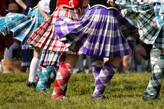 This is HIGHLAND DANCING ! In Riverdance you can't see swinging kilts!