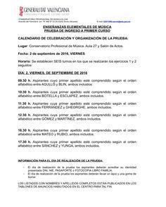 Mestre a casa - CONSERVATORIO PROFESIONAL DE MÚSICA DE ELCHE - ELX - Inicio