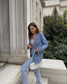 Classy Outfits, Stylish Outfits, Fashion Outfits, Womens Fashion, Spring Summer Fashion, Spring Outfits, Mode Style, Everyday Outfits, Aesthetic Clothes