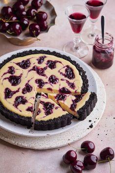 Cherry Cheesecake Tart Pecan Pie Cheesecake, Healthy Cheesecake, Baked Cheesecake Recipe, Homemade Cheesecake, Classic Cheesecake, Köstliche Desserts, Delicious Desserts, Dessert Recipes, Easy Tart Recipes