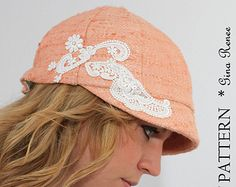 Newsboy Hat Sewing Pattern  Reversible Unisex Infant and