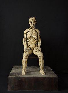 Ségolène Denis| sculpteur|artiste|Paris | Sculptures femme assise H 1m60 2010