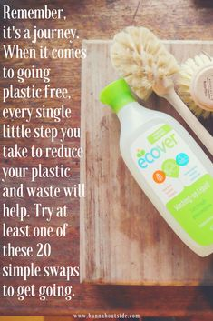 20 plastic free swaps Once you see plastic you can't un-see it. It's crept into our everyday lives and taken over; we're so dependent on it and we don't even realise. It has slowly spread to envelop just about every aspect of our lives and so when the light bulb goes 'ting' and you want to stop using so much, the challenge really begins.
