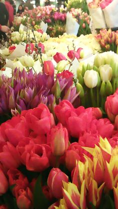 get your flower fix at the market #seattle