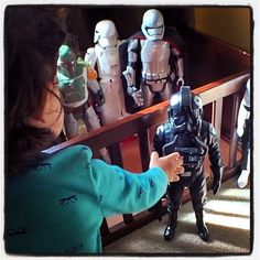 Jedi Brought Her Action Figures to Work in Today's Vlog