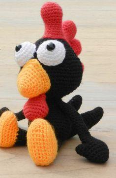 Petit coq au crochet