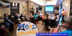 🔷🔸eXp Explained Lunch & Learn... Another packed house!🔸🔷 Oh... and today is eXp Rev Share Day!🤑 🔸Does your broker give you Revenue Share (Not profit share)? 🔸Does your broker give you Stock Ownership in the company? 🔸Does your broker give you the ability access incredible Support & Training from Anywhere? 🔸Does your Broker provide you with Leads, Tools & Systems to grow your business?