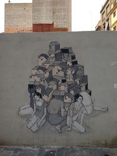 Urban Graffiti Art // Mr Pilgrim Street Art Online #streetart #urbanart #graffitiart #murals #hyuro