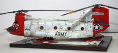 Chinook CH-47C no. 22280 242nd Sugar Bears - 1:48