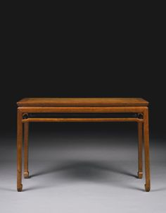 A HUANGHUALI SIDE TABLE (TIAOZHUO)<br>MING DYNASTY, 17TH CENTURY | Lot | Sotheby's