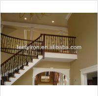 Iron staircase handrail FH004 - www.irondoor.cn