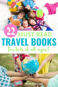 Inspire wanderlust and encourage global learning with this list of travel books for kids. Recommended by travel experts, these 22 travel books include picture books for young children and chapter books for older kids. Read your way around the world together as a family! #travelbooks #travel #books #childrensbooks Best Travel Books, Literary Travel, Traveling With Baby, Travel With Kids, Family Travel, Travel Toys, Travel Gifts, Kids Activities At Home, Family Vacation Destinations