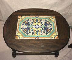 vintage California tile Tables / Monterey Furniture | eBay Tile Tables, Vintage California, Ottoman, Spanish, Pottery, Chair, Ebay, Furniture, Home Decor